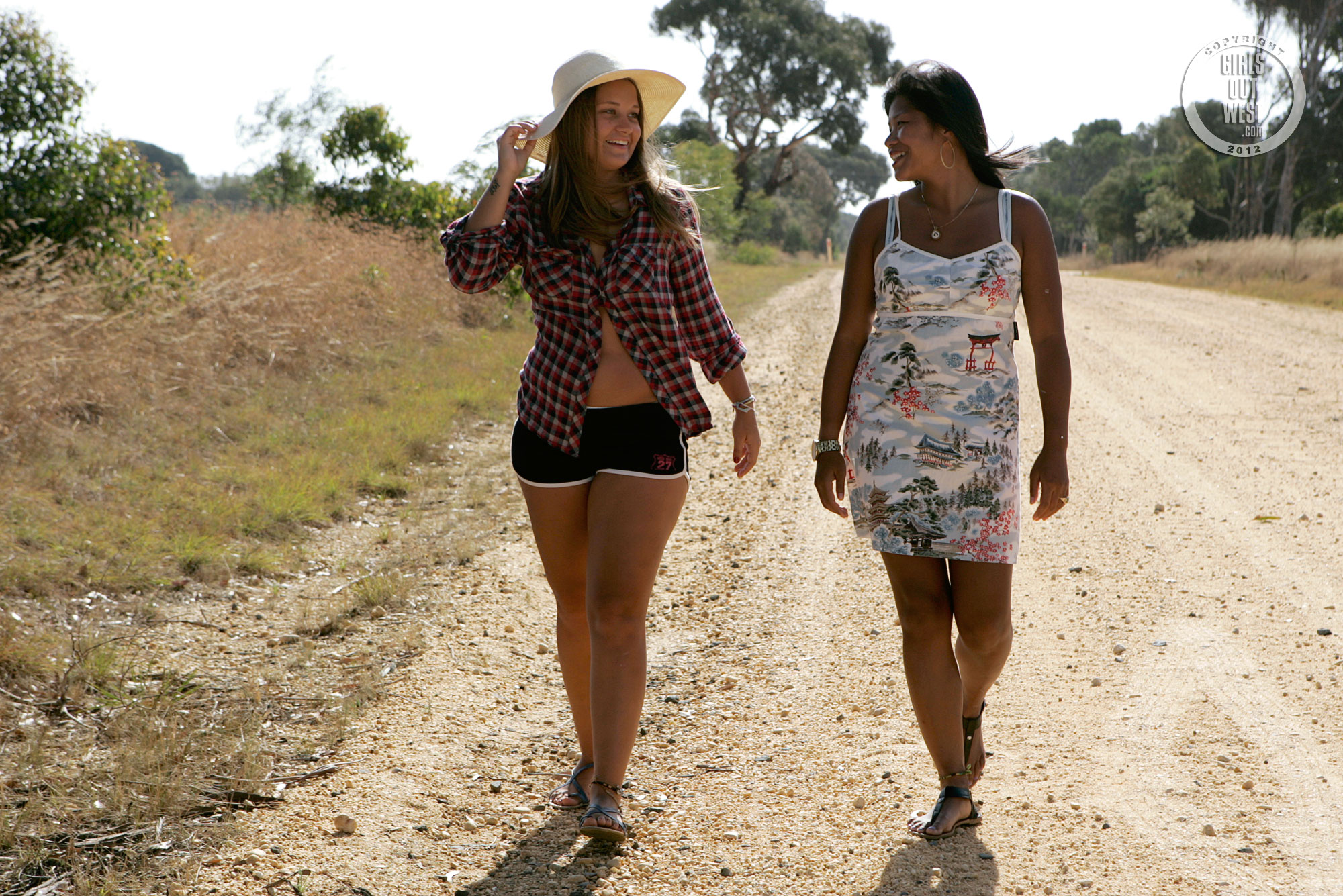 Livia  Nailah - Country Road  Girls Out West-6184